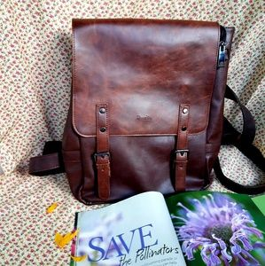 Handbags - faux leather back pack